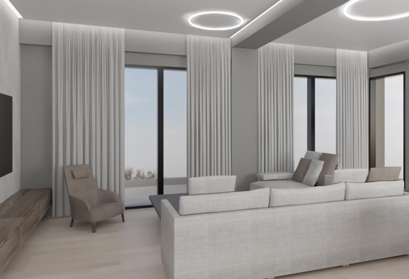 First floor apartment in Kalamaria