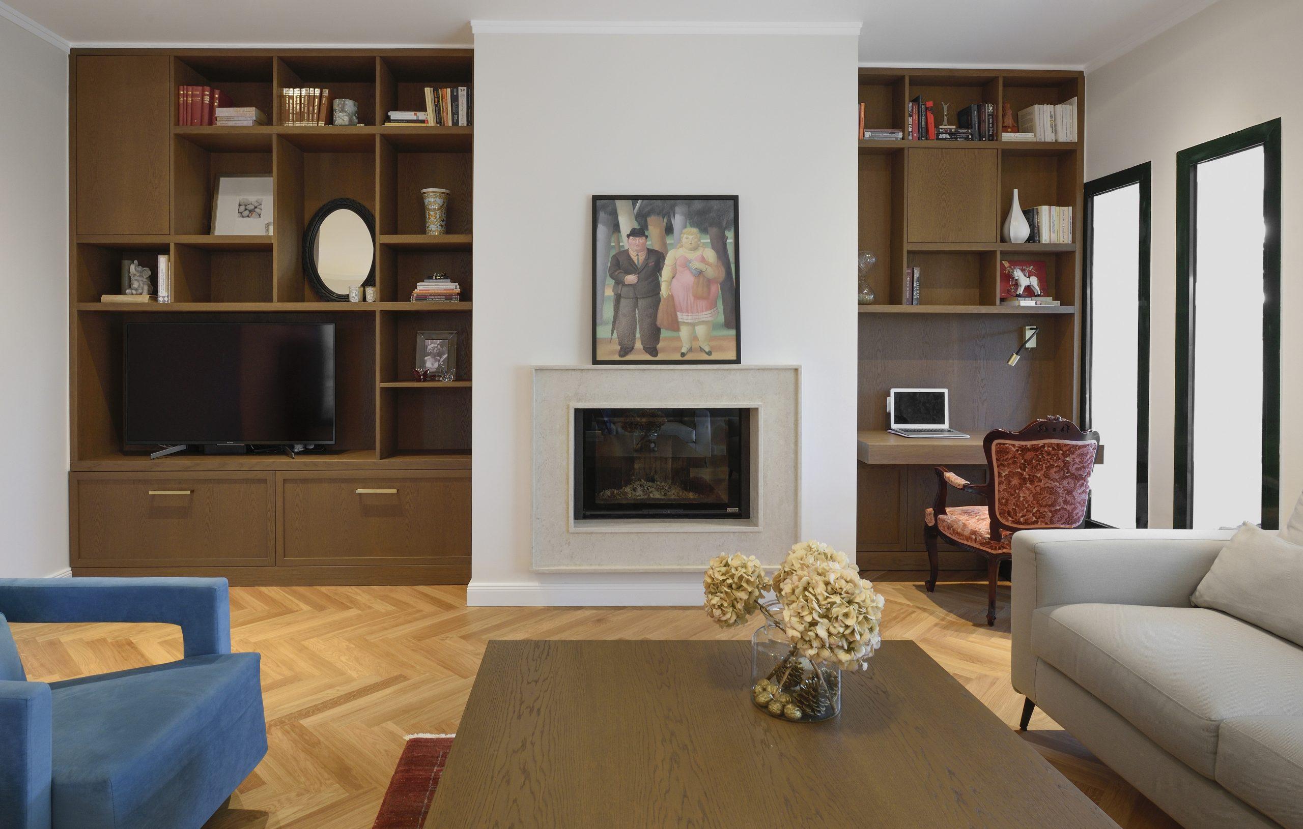 Τhree-storey residence